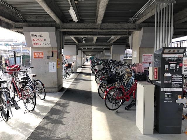 【エコステーション21】アドバンス高架下駐輪場