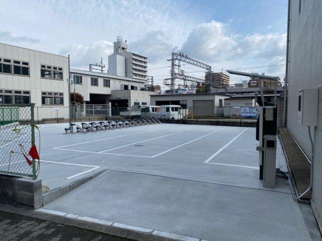 【エコステーション21】淀川区役所跡駐輪場
